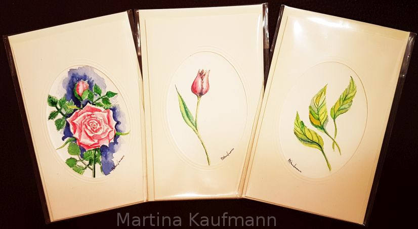 Blumen Grußkarten