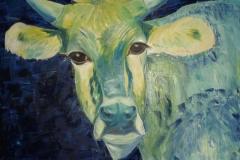 Cow blau