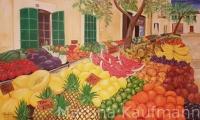 Obst auf Santanyi Markt